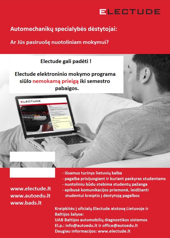 electude-mokymasis