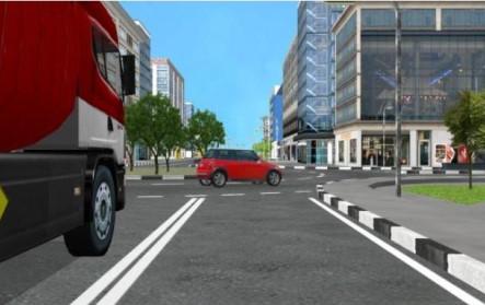 Sunkvežimio - autobuso vairavimo simuliatorius